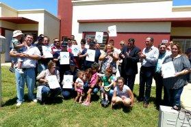 Cuentan con casa propia 36 familias de policías de Colón