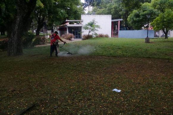 El CGE pondrá en funcionamiento el  Plan Patio Limpio durante el receso escolar