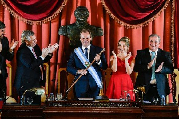 Laura Stratta asumió como la primera vicegobernadora de Entre Ríos