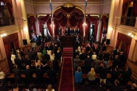 Representantes de distintos sectores valoraron el discurso de Bordet ante la Asamblea Legislativa