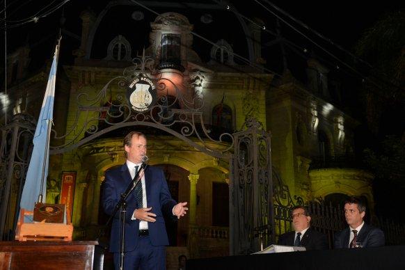 """""""Tenemos grandes desafíos por delante"""", dijo Bordet en Concordia"""