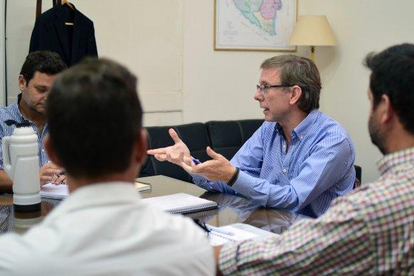 Bahillo mantuvo un encuentro con prestadores del turismo entrerriano