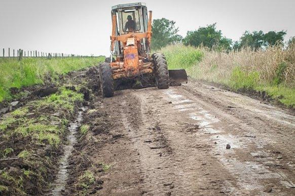 La provincia dispuso un operativo de contención en las zonas afectadas por las intensas lluvias