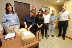 El gobierno construirá un Salón de Usos Múltiples en Villa del Rosario