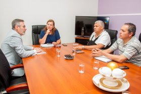 Coordinan tareas conjuntas entre Vialidad y la Municipalidad de San Salvador