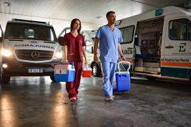 En Concepción del Uruguay se realizó la primera donación del año de órganos y tejidos para trasplante