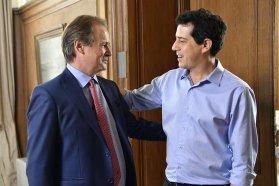 Bordet avanzó con Wado de Pedro en acuerdos para la consolidación del desarrollo entrerriano