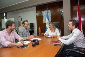Desarrollo Social y el municipio de Paraná coincidieron en una agenda de trabajo conjunto