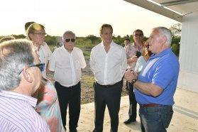 Bordet reiteró el apoyo de la provincia a la producción e instó al diálogo