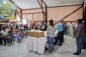 La provincia dio a conocer la lista final de productores seleccionados para la Colonia Productiva Guardamonte