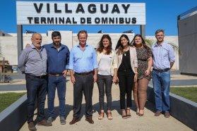 Bordet visitó Villaguay y ratificó su acompañamiento a las gestiones municipales