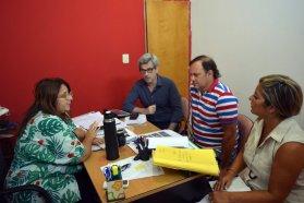 Producción articula tareas en conjunto con el municipio de Diamante