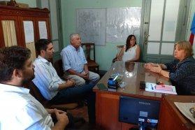 Coordinan acciones para proyectos educativos y sociales en Gualeguaychú