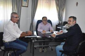 El presidente de Cafesg recibió al intendente Larrarte
