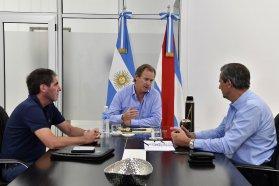 La provincia y el municipio de Paraná programan una agenda de trabajo