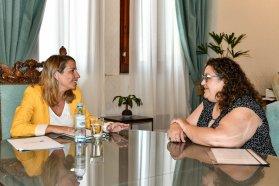 La vicegobernadora recibió a la titular de la Asociación de Celíacos de Entre Ríos.