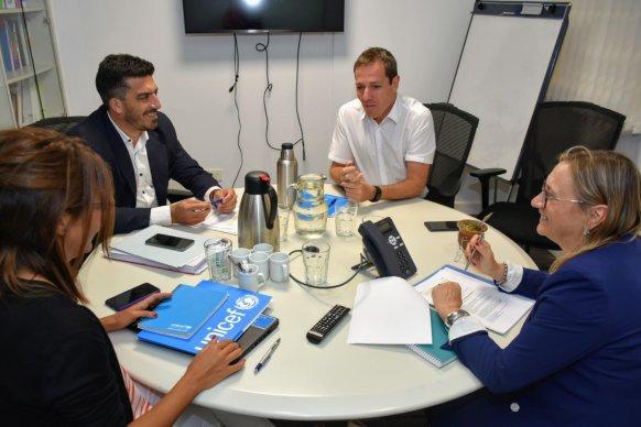 Desarrollo Social y el Copnaf consolidan el trabajo articulado con Unicef