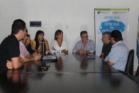 La provincia y la Festram trabajarán en conjunto para fortalecer el trabajo municipal