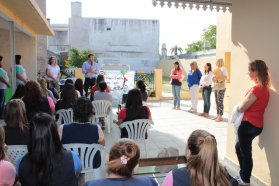 Jardines maternales de Paraná recibieron materiales educativos para sus salas