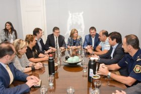 El gobierno provincial y la municipalidad de Concordia definen una agenda prioritaria para la ciudad
