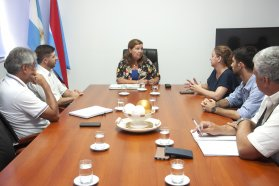 Planifican trabajos para caminos rurales del departamento Federación