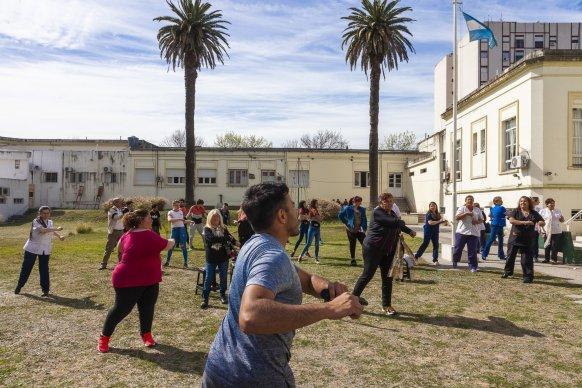 La provincia promueve la práctica de actividad física como estrategia para mejorar la salud integral