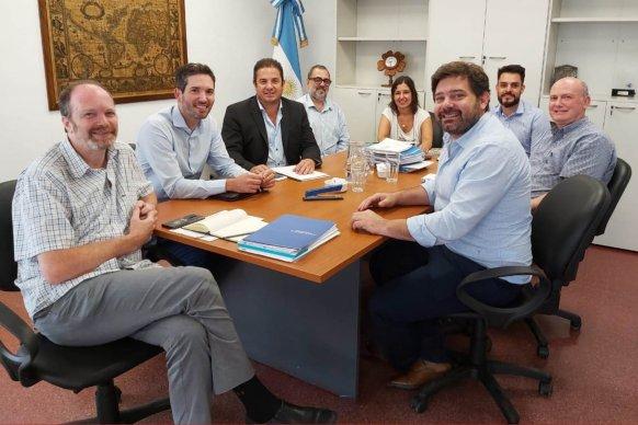 La provincia articula con Nación obras de infraestructura escolar para Entre Ríos