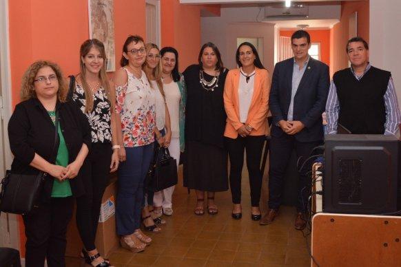 La provincia articula acciones en materia de género en el departamento Nogoyá