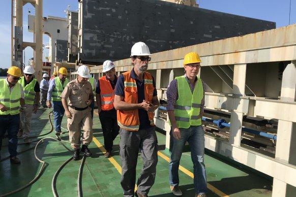El ministro de Producción aseguró que los puertos generan trabajo genuino