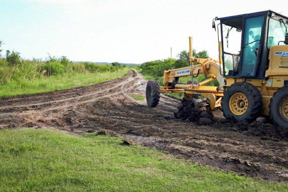 Vialidad Provincial continúa con las tareas de mantenimiento en caminos rurales