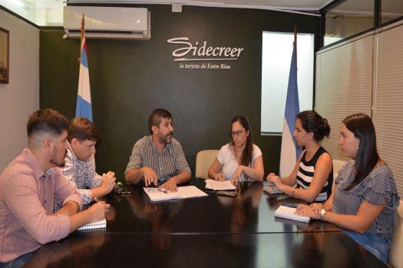 Lazos para impulsar la economía social en Paraná