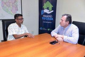 La provincia trabaja en soluciones habitacionales para Ubajay y San Gustavo