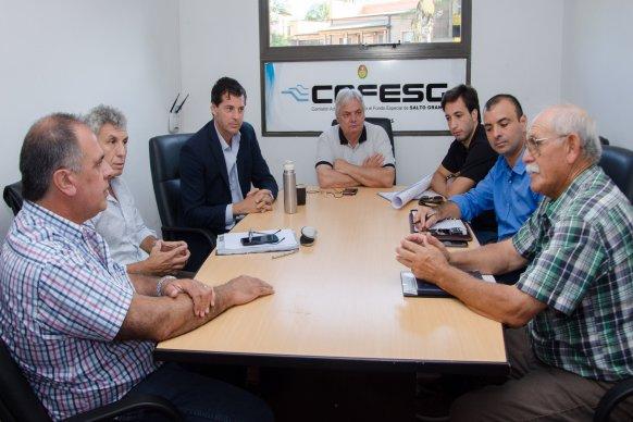 Cafesg planifica acciones con intendentes de la región de Salto Grande
