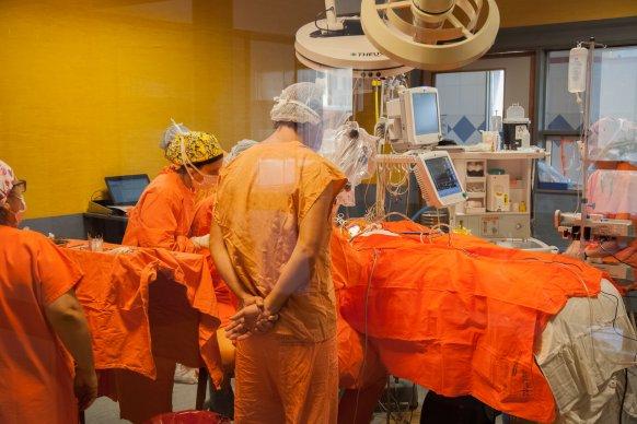Se realizó una operación sin precedentes en el hospital San Roque
