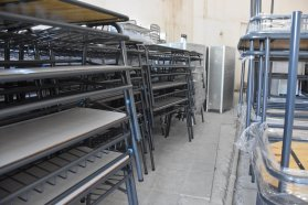 La provincia entregó mobiliario escolar a ocho escuelas