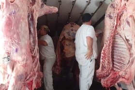 Decomisaron carne vacuna en operativos de fiscalización