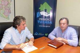 Proyectan la ejecución  de nuevas soluciones habitacionales  para Federación y Villa Elisa