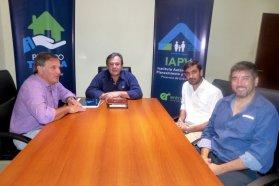 Planifican nuevas viviendas para dos departamentos entrerrianos