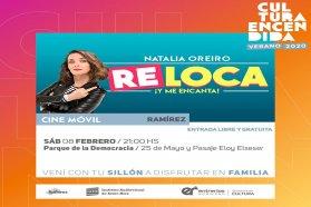 El sábado el cine móvil estará en Ramírez