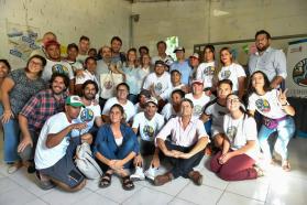 La vicegobernadora y el ministro Arroyo destacaron la experiencia de Cuidadores de la Casa Común