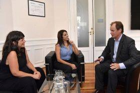 Bordet y Donda acordaron acciones contra la discriminación en Entre Ríos