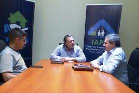 La provincia trabaja en soluciones habitaciones para localidades del departamento Diamante
