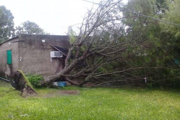 El gobierno provincial asiste a familias afectadas por la lluvia en el norte entrerriano