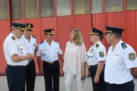 Por primera vez una oficial de policía mujer es jefa departamental