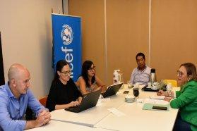 La provincia fortalecerá las líneas de trabajo con Unicef Argentina