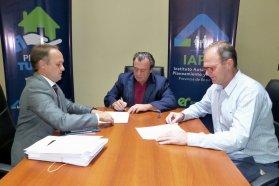 Construirán  nuevas viviendas en Valle María con recursos provinciales