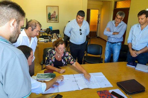 Evalúan la construcción de un desvío para tránsito pesado en Larroque