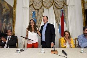 Bordet encabezó la capacitación de las autoridades de los tres poderes del Estado por la Ley Micaela
