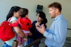 El Becario atendió consultas durante tres días consecutivos en La Vieja Usina