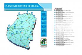 Fin de semana largo con operativos de seguridad en toda la provincia